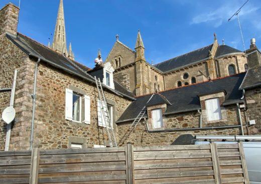 Couvreur 93 rénovation toit gros chantier église