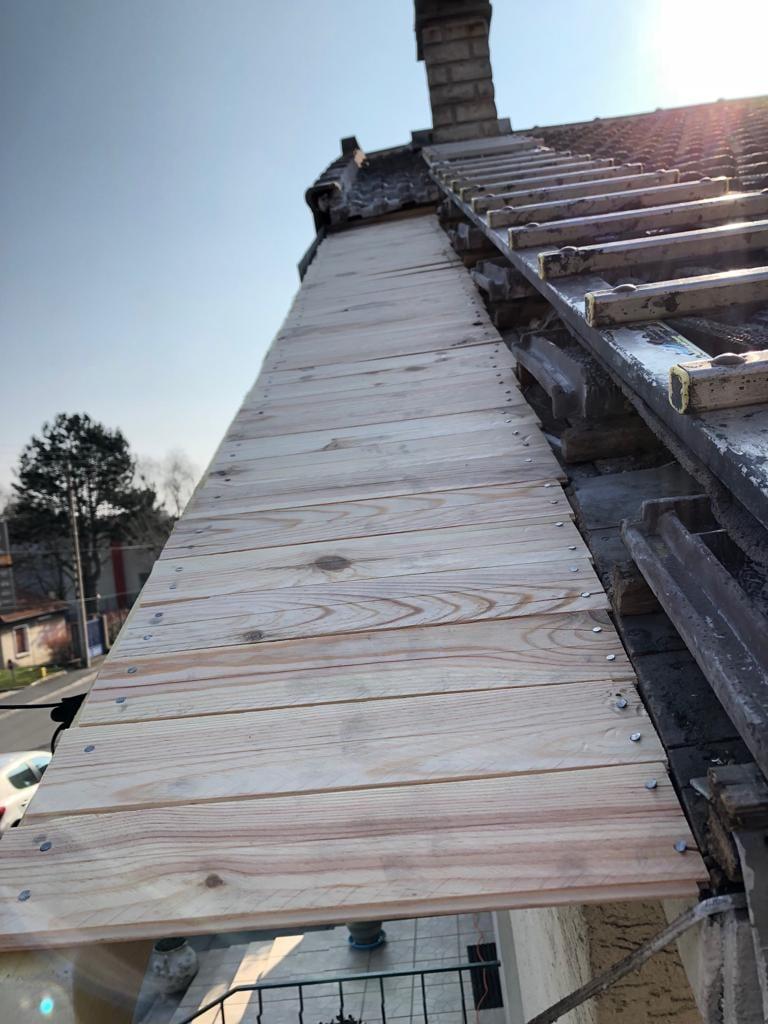 rénovation toiture 93 - Drancy