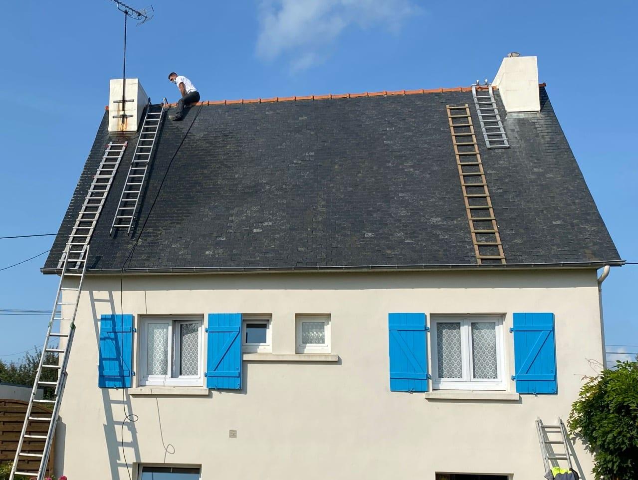 recherche Fuite faitage toit