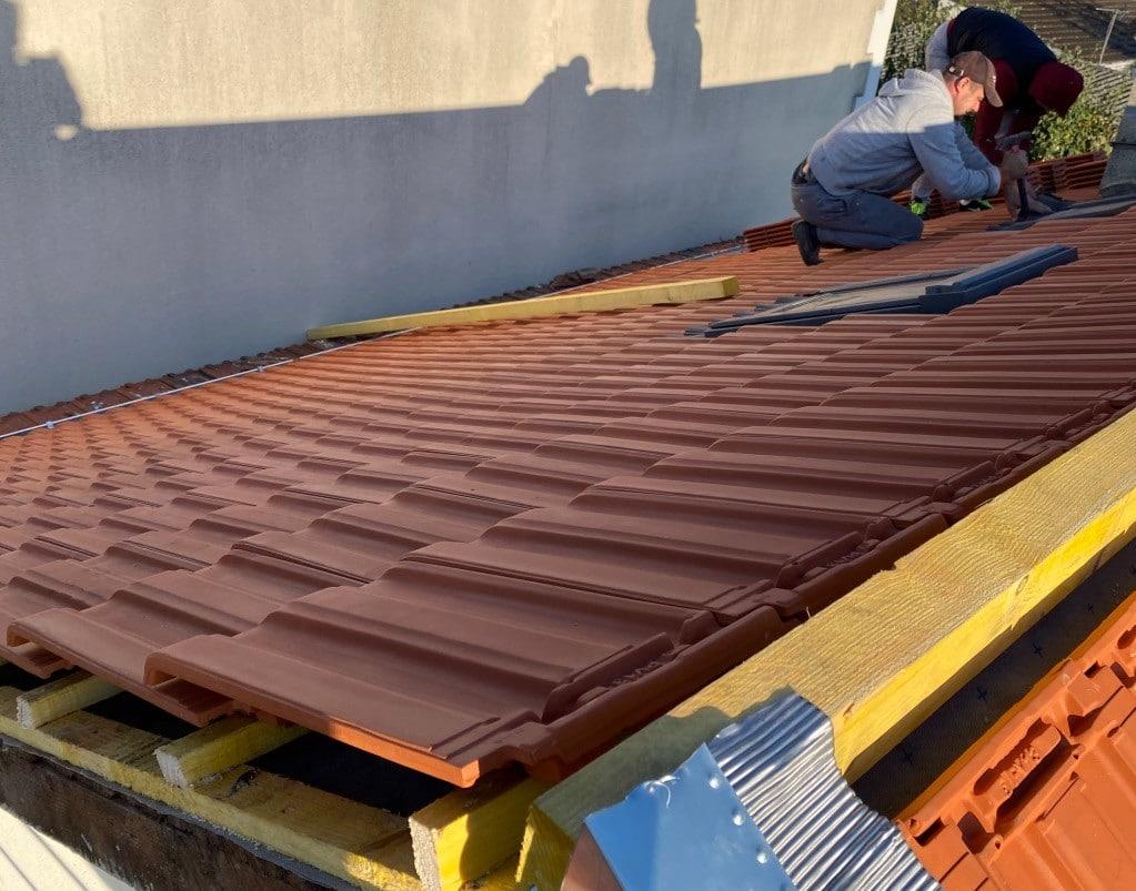 couverture toit neuve - couvreur 93 Jean Meinhard