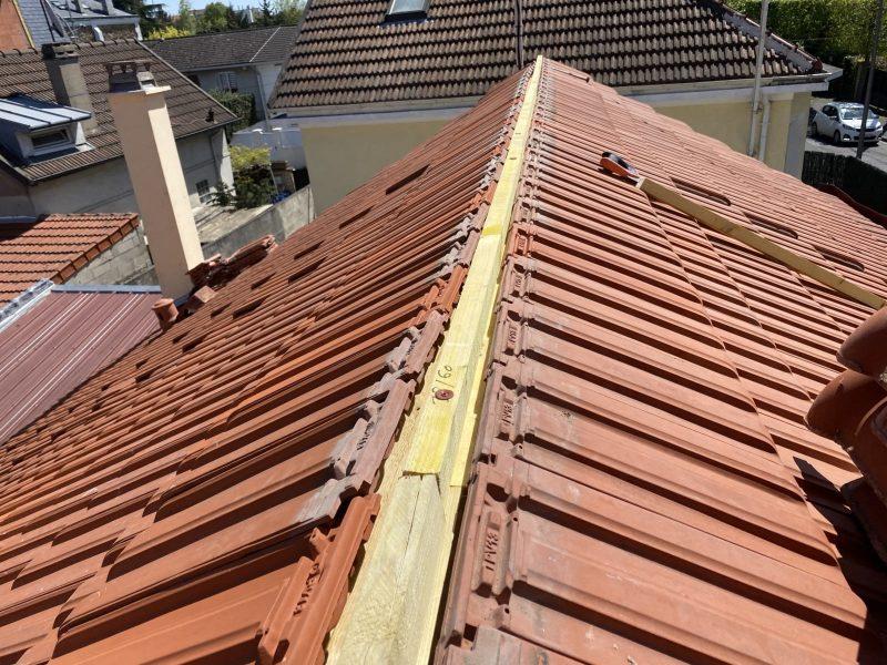 Couvreur Aulnay sous bois 93 : toit refait à neuf par Jean Meinhard